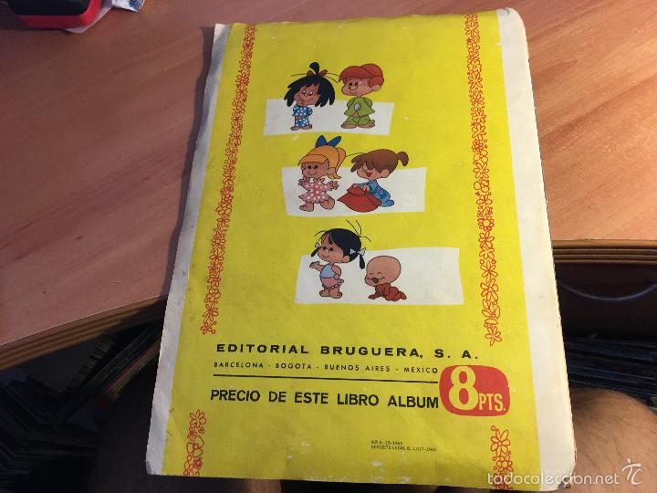 Coleccionismo Álbumes: VAMOS A LA CAMA. LA FAMILIA TELERIN CON 161 CROMOS DE 180 CROMOS (BRUGUERA 1965) (ALB-A) - Foto 2 - 58083759