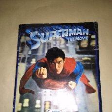 Coleccionismo Álbumes: SUPERMAN THE MOVIE, 1978/79 - ED. FHER - 126 CROMOS DE 180. Lote 58115148