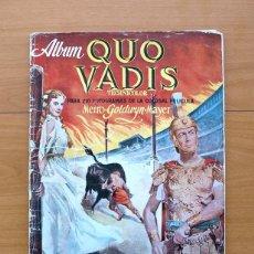 Coleccionismo Álbumes: QUO VADIS - EDICIONES CLIPER 1954. Lote 58140931