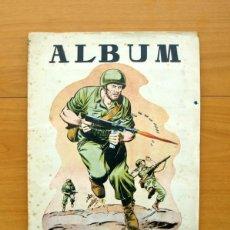 Coleccionismo Álbumes: ÁLBUM HAZAÑAS BÉLICAS - EDICIONES TORAY 1957 - FALTAN DOS CROMOS, LOS Nº 43 Y 55. Lote 58141167
