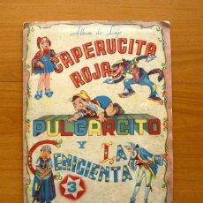 Coleccionismo Álbumes: CAPERUCITA ROJA, PULGARCITO Y LA CENICIENTA - EDITORIAL FHER 1940 - VER FOTOS INTERIORES. Lote 58170747