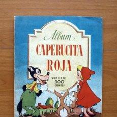 Coleccionismo Álbumes: CAPERUCITA ROJA - EDITORIAL BRUGUERA 1944 - VER FOTOS EN EL INTERIOR. Lote 58178203