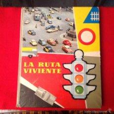 Coleccionismo Álbumes: ALBUM INCOMPLETO LA RUTA VIVIENTE DE NESTLE, . Lote 58210679