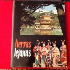 Coleccionismo Álbumes: ALBUM INCOMPLETO DE TIERRAS LEJANAS DE NESTLE,. Lote 58210717