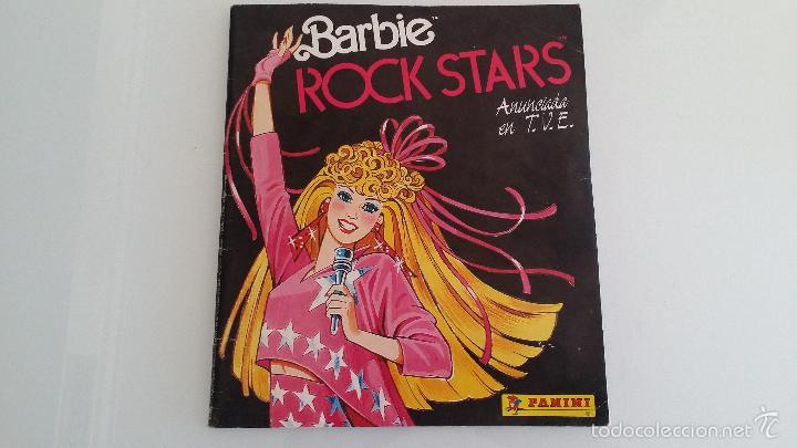 ALBUM CROMOS BARBIE ROCK STAR PANINI (Coleccionismo - Cromos y Álbumes - Álbumes Incompletos)