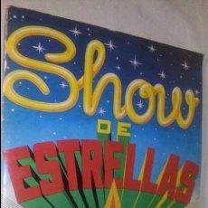 Coleccionismo Álbumes: ANTIGUO ALBUM CROMOS SHOW DE ESTRELLAS EDITORIAL MAGA 1982. Lote 58345614
