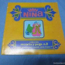 Coleccionismo Álbumes: ANTIGUO ALBUM NINA FLEER CHICLE AÑO 1969. Lote 58562653