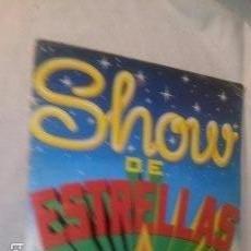 Coleccionismo Álbumes: ANTIGUO ALBUM CROMOS SHOW DE ESTRELLAS EDITORIAL MAGA 1982 (2). Lote 58586324