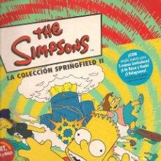 Coleccionismo Álbumes: THE SIMPSONS. LA COLECCIÓN SPRINGFIELD II. INCOMPLETO. PANINI. (Z37). Lote 58649335