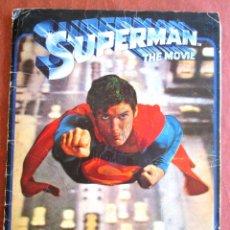 Coleccionismo Álbumes: SUPERMAN THE MOVIE - ALBUM DE CROMOS INCOMPLETO - CON POSTER CENTRAL - FHER -1978. Lote 58753628