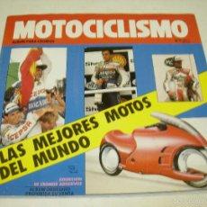 Coleccionismo Álbumes: ALBUM CROMOS MOTOCICLISMO, MILANO EDICIONES 1989, CON 82 CROMOS. Lote 59076585