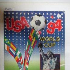 Coleccionismo Álbumes: ÁLBUM DE CROMOS USA 94 WORLD CUP. Lote 51036785