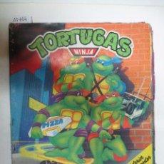 Coleccionismo Álbumes: ÁLBUM DE CROMOS TORTUGAS NINJA. Lote 51036786
