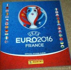 Coleccionismo Álbumes: UEFA- EURO 2016 FRANCE . OFFICIAL STICKER ALBUM - VACIO PLANCHA-IMPORTANTE LEER DESCRIPCION. Lote 59627767