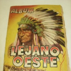 Coleccionismo Álbumes: ALBUM CROMOS LEJANO OESTE -CON 254 CROMOS- EDICIONES GENERALES 1955. Lote 60000159