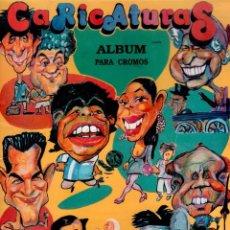 Coleccionismo Álbumes: ÁLBUM DE CROMOS CARICATURAS INCOMPLETO. Lote 60051971
