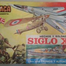 Coleccionismo Álbumes: ÁLBUM HECHOS Y SOLDADOS AÑOS 70.. Lote 60509090