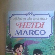 Coleccionismo Álbumes: ALBUM DE CROMOS HEIDI MARCO RBA EDITORES. Lote 60913907