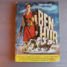 Coleccionismo Álbumes: BEN-HUR. FALTA UN SOLO CROMO. 1960. Lote 61070263
