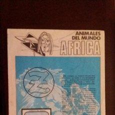 Coleccionismo Álbumes: JUANITO ZAHOR. ANIMALES DEL MUNDO. AFRICA. OPORTUNIDAD. Lote 61407379