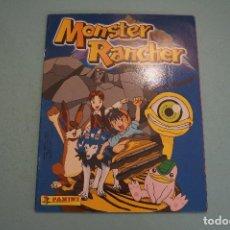 Coleccionismo Álbumes: ÁLBUM VACIO DE MONSTER RANCHER AÑO 2000 DE PANINI. Lote 200080045