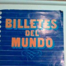 Coleccionismo Álbumes: ALBUM CROMOS BILLETES DEL MUNDO AÑO 1984 DIDEC. Lote 61582782