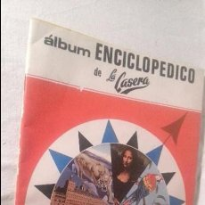 Coleccionismo Álbumes: RC270 ALBUM ENCICLOPEDICO LA CASERA CARBONICA ALICANTINA EDITORIAL FHER,TODAS LAS PAG. FOTOGRAFIADAS. Lote 61619848