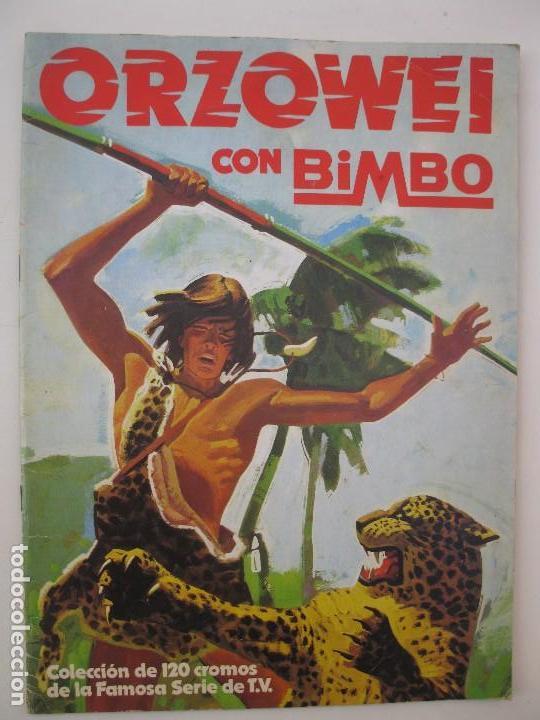 ÁLBUM DE CROMOS - ORZOWEI - BIMBO - AÑO 1978. (Coleccionismo - Cromos y Álbumes - Álbumes Incompletos)