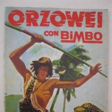 Coleccionismo Álbumes: ÁLBUM DE CROMOS - ORZOWEI - BIMBO - AÑO 1978.. Lote 61978244
