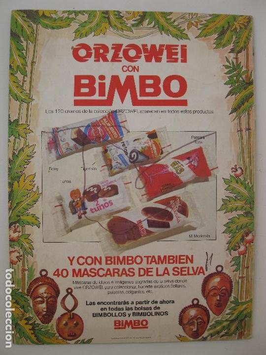 Coleccionismo Álbumes: ÁLBUM DE CROMOS - ORZOWEI - BIMBO - AÑO 1978. - Foto 4 - 61978244