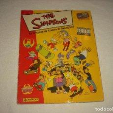 Coleccionismo Álbumes: THE SIMPSONS . PANINI . SOLO FALTAN 2 CROMOS. Lote 62031296