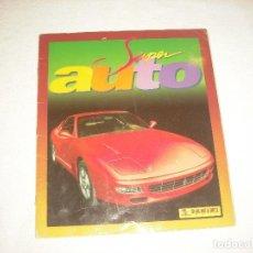Coleccionismo Álbumes: SUPER AUTO . PANINI . SOLO FALTAN 5 CROMOS. Lote 62031560