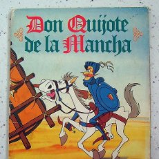 Coleccionismo Álbumes: ALBUM DE CROMOS. DON QUIJOTE DE LA MANCHA . DANONE . FALTAN 7. Lote 62370436