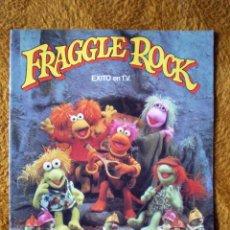Coleccionismo Álbumes: FRAGGLE ROCK FHER 1986 ALBUM NUEVO Y VACIO LIBRO PARA CROMOS. Lote 80171134