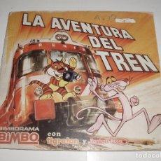 Coleccionismo Álbumes: ALBUM LA AVENTURA DEL TREN BIMBO PANTERA ROSA Y TIGRETON. Lote 62663728
