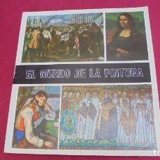 Coleccionismo Álbumes: ALBUM DE CROMOS INCOMPLETO. EL MUNDO DE LA PINTURA. CONTIENE 132 CROMOS. Lote 62919176