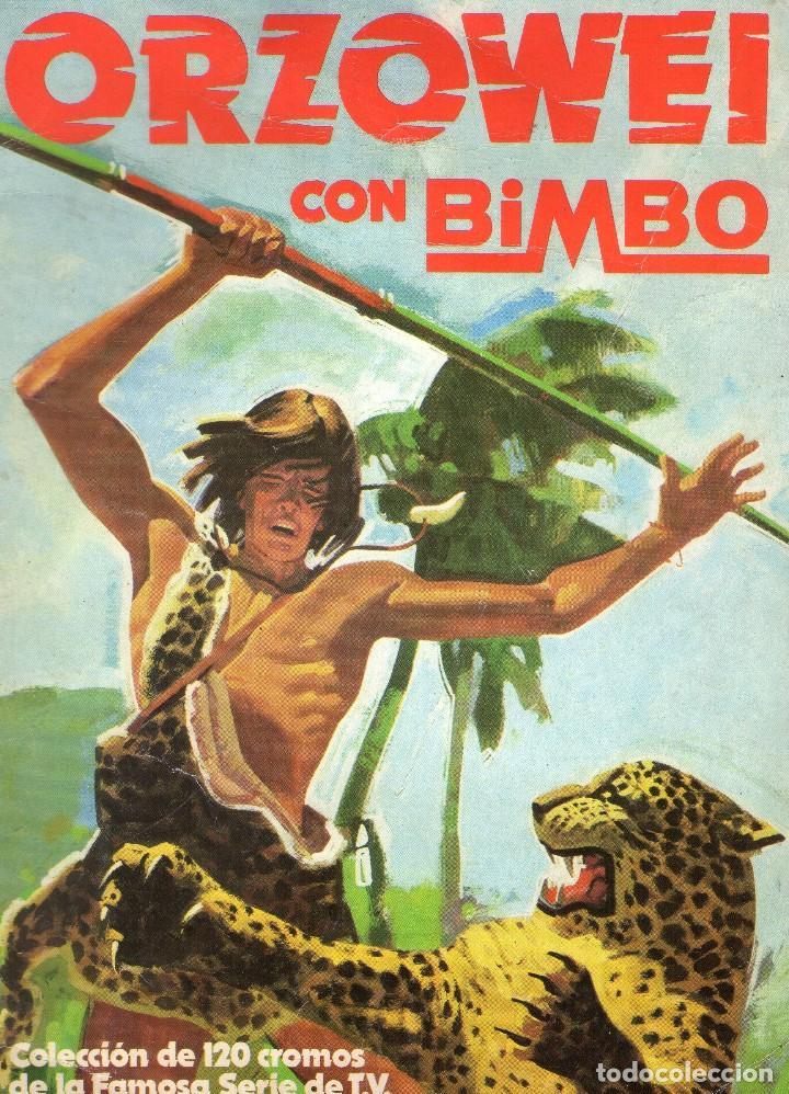 ÁLBUM DE CROMOS - ORZOWEI - BIMBO - VACIO - AÑO 1978. (Coleccionismo - Cromos y Álbumes - Álbumes Incompletos)