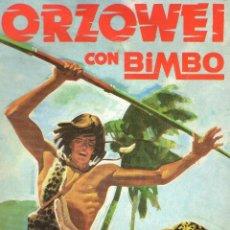 Coleccionismo Álbumes: ÁLBUM DE CROMOS - ORZOWEI - BIMBO - VACIO - AÑO 1978.. Lote 63193848