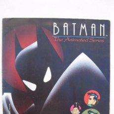 Coleccionismo Álbumes: ÁLBUM DE CROMOS - BATMAN THE ANIMATED SERIES - PANINI - AÑO 1993.. Lote 63196236