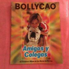 Coleccionismo Álbumes: AMIGOS Y COLEGAS - ÁLBUM DE CROMOS BOLLICAO INCOMPLETO CONTIENE 33 CROMOS. Lote 63308230