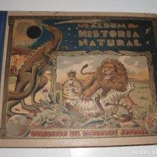 Coleccionismo Álbumes: ALBUM HISTORIA NATURAL DE CHOCOLATES JUNCOSA. Lote 63334648