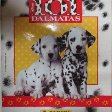 Coleccionismo Álbumes: ALBUM CROMOS 101 DALMATAS FALTAN 61 CROMOS PANINI. Lote 64073135