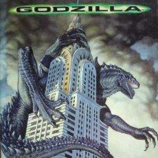 Coleccionismo Álbumes: ALBUM CROMOS GODZILLA FALTAN 51 CROMOS PANINI. Lote 64136115