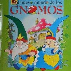 Coleccionismo Álbumes: ALBUM CROMOS EL NUEVO MUNDO DE LOS GNOMOS FALTAN 12 CROMOS PANINI. Lote 64154623
