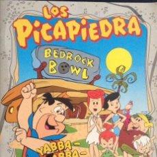 Coleccionismo Álbumes: ALBUM CROMOS LOS PICAPIEDRA TIENE 59 CROMOS PANINI. Lote 64158235