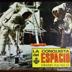 Coleccionismo Álbumes: 8116 - ÁLBUM LA CONQUISTA DEL ESPACIO. INCOMPLETO( 68/270 VER DESCRIP). EDIC. VULCANO. 1974.. Lote 64229111