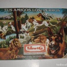 Coleccionismo Álbumes: ALBUM TUS AMIGOS LOS PERROS PANRICO. Lote 64393275