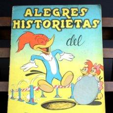 Coleccionismo Álbumes: 8127 - ÁLBUM DE CROMOS ALEGRES HISTORIETAS DEL PÁJARO LOCO. INCOMPLETO. VV. AA. EDIC. FHER.. Lote 64432071