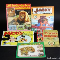 Coleccionismo Álbumes: 8128 - LOTE DE 5 ÁLBUMES(VER DESCRIPCIÓN). VV. AA. VV. EDITORIALES. AÑOS 70/80.. Lote 64437775