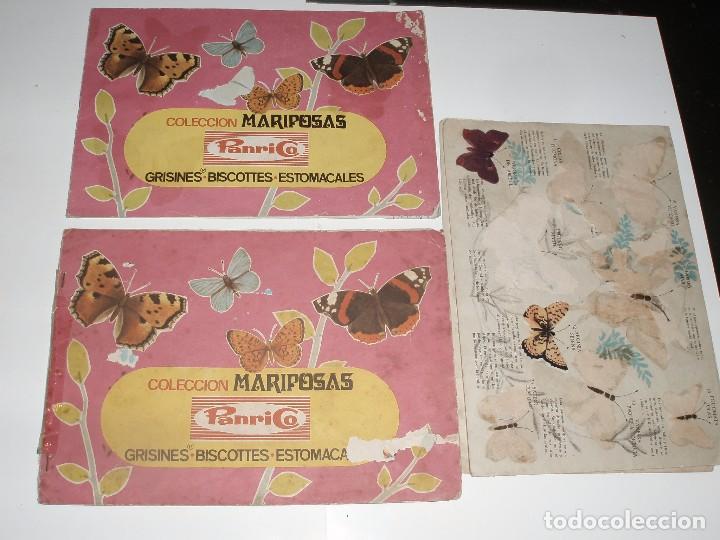 album mariposas panrico 3 albunes en mal estado comprar Álbumes